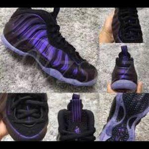 Nike Shoes - Foam POSITE egg plant